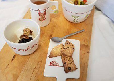presentation petit dejeuner